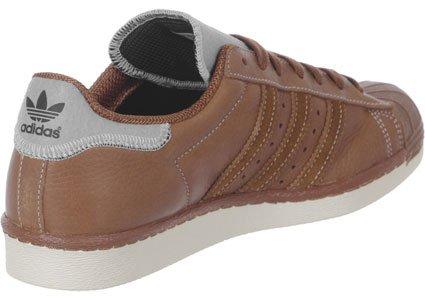 Adidas Superstar 80's Varsity Jacket Herren Sneaker Hellbraun - 4