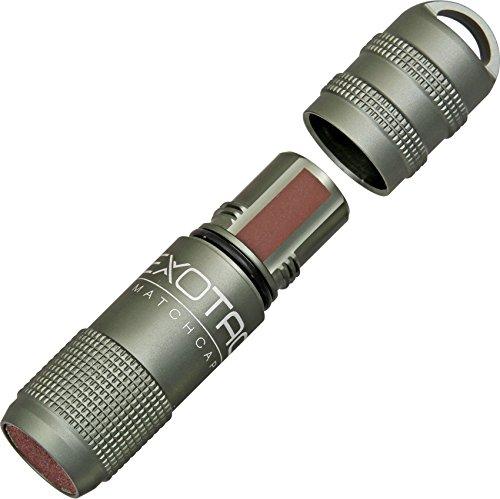 Exotac Wasserdichter Behälter MatchCap Gunmetal, 004000-GUN