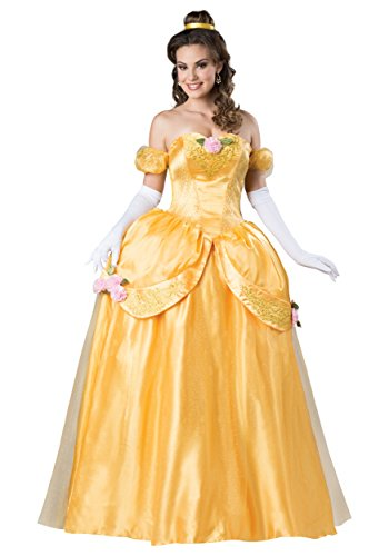 Women's Beautiful Princess Fancy dress costume Large (Storybook Belle Kostüm)