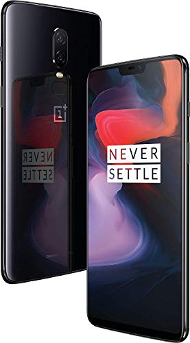 OnePlus 6 (Mirror Black, 6GB RAM, 64GB)