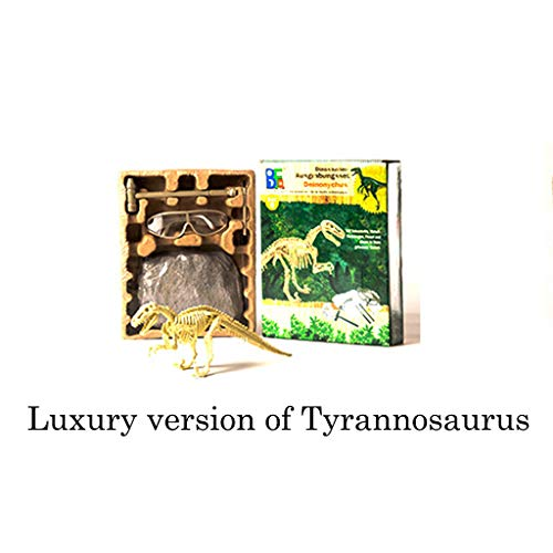 Auto-Modell Plüsch Bildung Squishy Spielzeug aufblasbares Spielzeug im Freien Spielzeug,Dinosaurier-Wissenschafts-Kit - Graben Sie Dino-Fossilien auf und montieren Sie Aushub-Spielzeug für ()