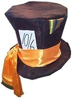 10/6 FANCY DRESS TOP HAT, MAD HATTER ALICE IN WONDERLAND STYLE FANCY DRESS PARTY COSTUME