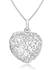 Bijoux pour tous 8.44.2784 - Collar de plata de ley