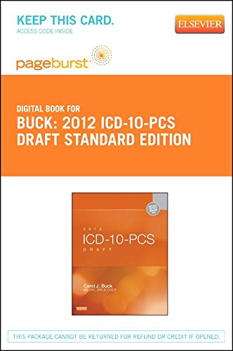 2012 ICD-10-PCs Draft Standard Edition - Elsevier eBook on Vitalsource (Retail Access Card) Standard Retail-pc