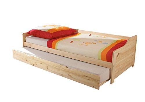 AVANTI TRENDSTORE - Letto con funzione estraibile in legno di pino massiccio, ca. 204x60x98 cm