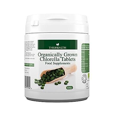 Organic Chlorella 500g - 1000 x 500mg Tablets from This Health