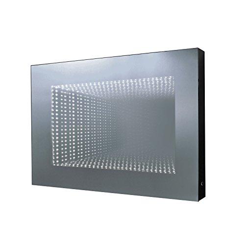 TOP AKTION FRÜHLING ! 3D LED Badspiegel Infinity, Leipzig 70x50x7cm, Lichtspiegel mit LED Tunnel Effekt, Energieklasse A+ (WEEE-Reg. Nr.: DE 40647673)