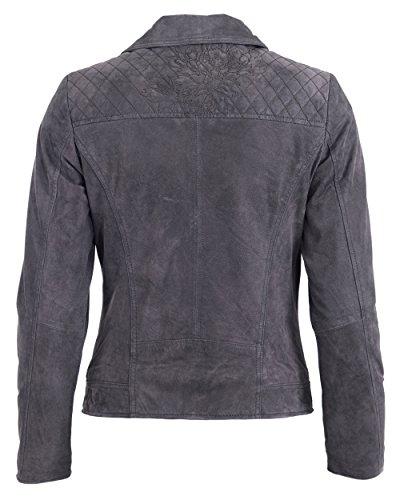 Tom Tailor Lederjacke 5071002 Grey
