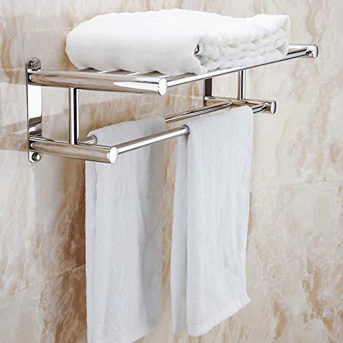Proyecto de toalla de acero inoxidable 304 Toallero Proyecto de hotel Toallero Toallero para el hogar 50 CM (304 de material)