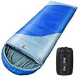 Mumien Schlafsack Ultraleicht 4 Saisons WasserDicht Leicht Camping SchlafSack mit Tragbarer TrageTasche