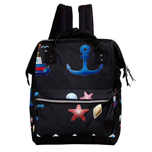 ckeltasche Rucksack, Wickeltasche Wickelrucksack Wickeltaschen für die Babypflege Langlebig, stilvoll, große Kapazität für Mama und Papa ()
