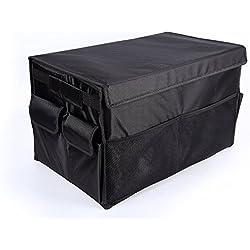 Auto Coche tronco Organizador, outowin® Premium de carga plegable caja de almacenamiento con construcción robusta y resistente al agua Oxford–Ideal para ir de compras Camping senderismo picnic y al aire libre