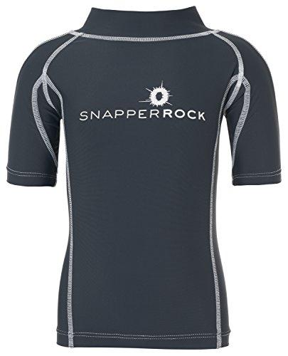 Snapper Rock Jungen & Mädchen UPF 50+ UV Schutz Kurzarm Bade Shirt Rashie für Kinder & Jugendliche