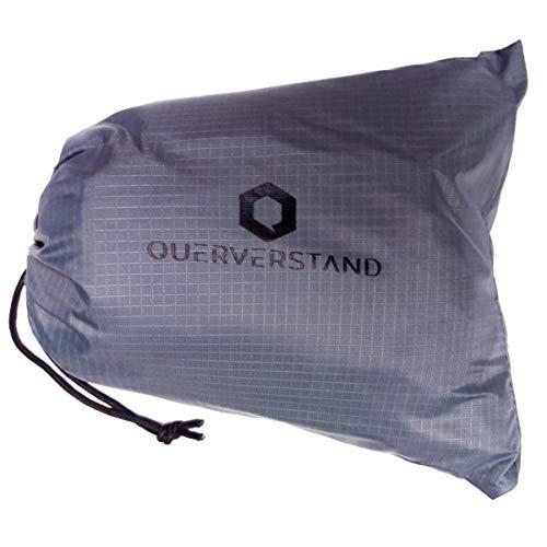 decke 200x200 cm faltbar - Kompakte XXL Picknickdecke für 4 Personen mit praktischer Tasche - wasserdicht, federleicht und platzsparend (200x200cm, Grau) ()