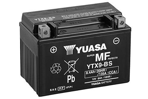 Las baterías Yuasa YTX9-BS