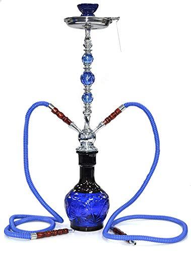 SHISHAS Smoking Hookah Pipes 1 oder 2 oder 3 Schlauch KLEINE MEDIUM GROßE EXTRA Grosse Shisha TAUBEN (DESIGN-154) (Ss-schläuche)