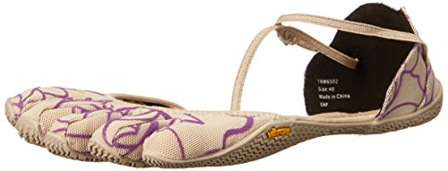 Vibram Five Fingers Vi-s, Chaussures Multisport Outdoor Femme Multicolore (Beige/loyal/purple)