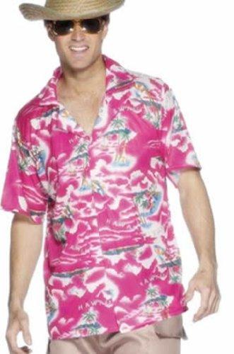Hawaiian Shirt, Pink, -