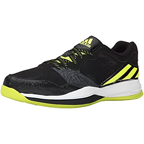 Adidas Performance Tren loco El entrenamiento cruzado de zapatos, Negro / semi solar amarillo /