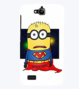 TOUCHNER (TN) Super Minion Back Case Cover for Huawei Honor Holly