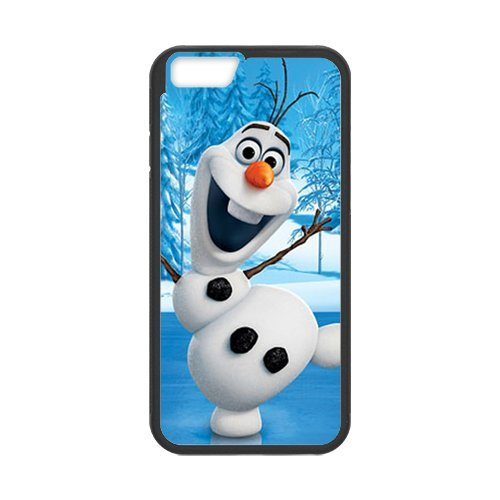 "iPhone 6S (4,7""inch) Coque de protection en TPU pour, Customize Disney Frozen, Elsa, Anna, Olaf Case for iPhone 6(4,7"" inch), [Disney Frozen, Elsa, Anna, Olaf] étanche Coque de protec"