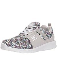 DC Girls' Heathrow SP Skate Shoe, Multi, 13.5 M US Little Kid