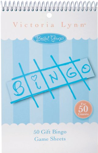 Darice Victoria Lynn Bridal Game Sheets 50/Pkg-Bingo
