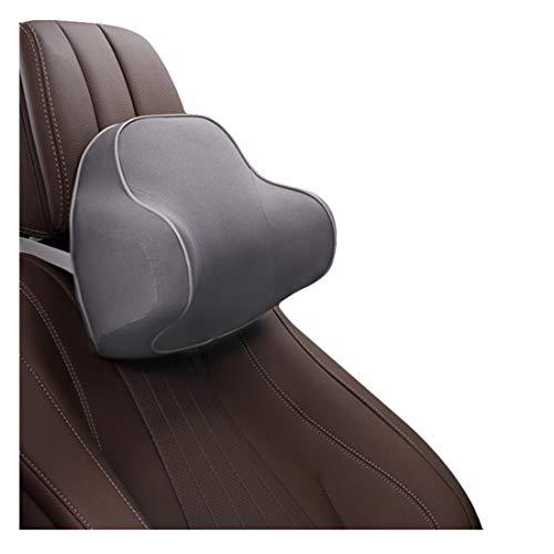 Zhiyuanan Auto Nackenstützkissen Memory Foam Kopfstütze Kissen Autositzkissen Orthopädische Atmungsaktive Zervikale Stützkissen für das Fahren von Halsschmerzen Grau