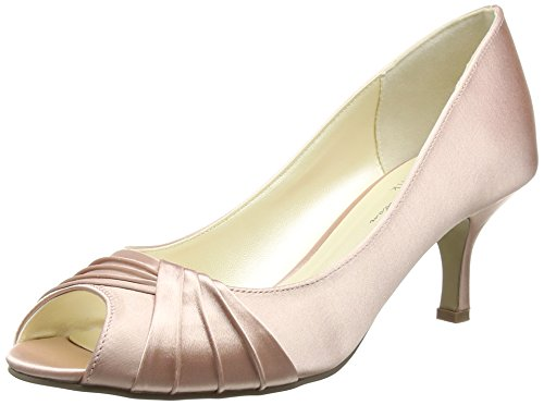 Pink Paradox London Damen Romantic Peep-Toe, Rosa (Blush), 39 EU