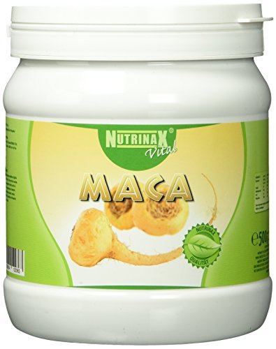 Nutrinax Vital Maca Pulver 100 prozent pur, 1er Pack (1 x 500 g)