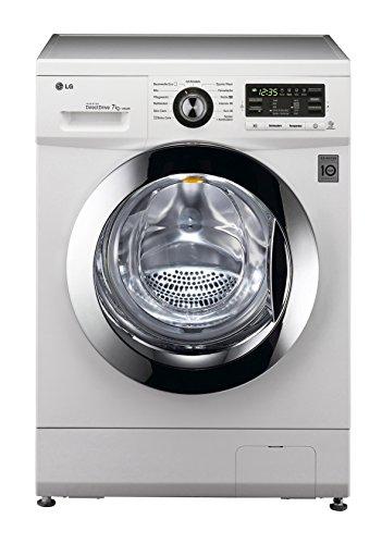 LG F 1496 QDA3 Waschmaschine FL / A+++ / 7 kg / 1400 UpM / 9300 L / 122 kWh/Jahr / Digitaldisplay / Smart Diagnosis /