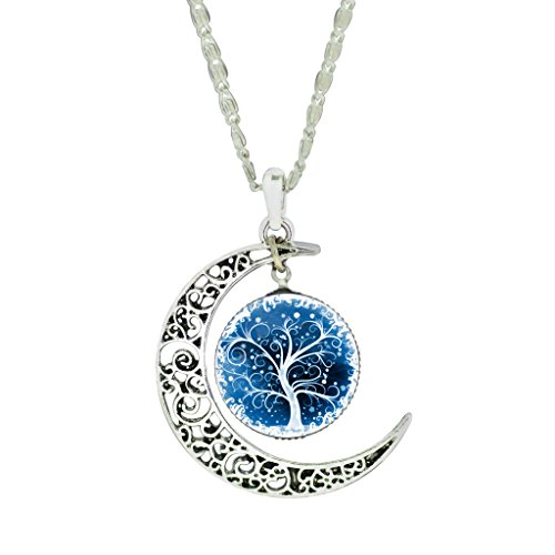 womens-fashion-lacework-crystal-glass-cabochon-crescent-moon-art-pendant-collar-necklace