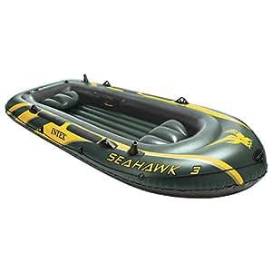 Intex 68349 - Bateau gonflable 3 places SEAHAWK 300