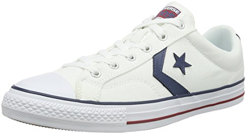 Converse Star Player, Sneakers Basses mixte adulte, Blanc (Weiß), 46 EU