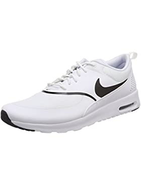 Nike Damen Air Max Thea-599409 Sneaker, Weiß (White/Black 108), 44.5 EU