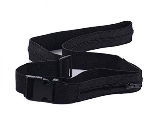 HCFKJ Reise-Diebstahl Brieftasche Gürtel mit Geheimfach Versteckt Stash Money Belt (Stripe Shirt Panel)