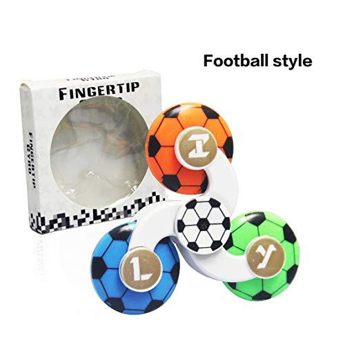 Banbie Kinderspielzeug Spielzeug Dreieck Finger Fingerspitze Held Fingerspitze Neuheit Spiral Spielzeug Superman American Team Football