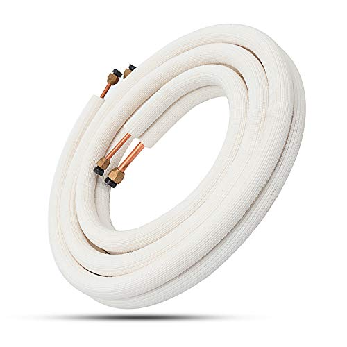 Coil Tube (ExcLent 3M Insulated Copper Pipe Split Line 1/4'' 1/2