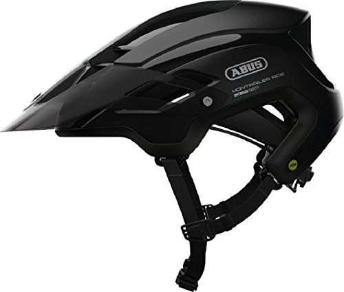 Abus montrailer Ace MIPS - Bicycle Helmet, All Year, Unisex, Black Velvet Color, Medium size