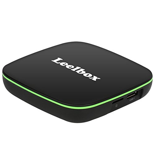 Leelbox Q1 Android TV Box New Quad Core A7 Prozesser 1GB RAM 8GB ROM Android 6.0 Smart TV Box with BT 4.0 Unterstützung 4K Full HD /H.265 /WLAN 2.4Ghz