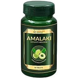 Medlife Essentials Amalaki for Immunity, Cardiac, Liver, Gastric | 30 Tablets