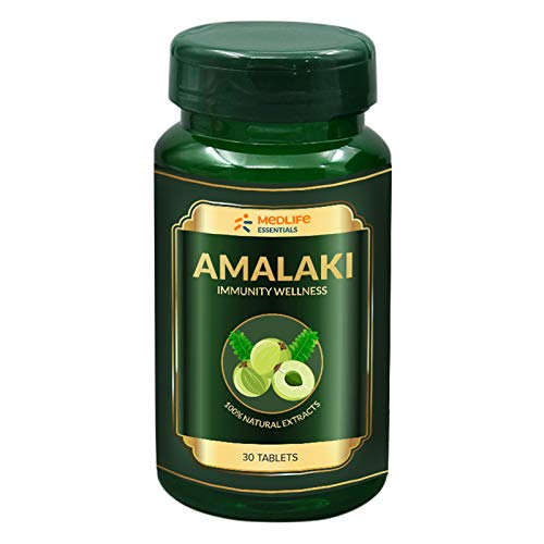 Medlife Essentials Amalaki for Immunity, Cardiac, Liver, Gastric | 30 Tablets