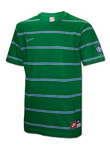 Nike - Brasil Camiseta Calle V 08/09 Hombre Color: Verde Talla: 2XL