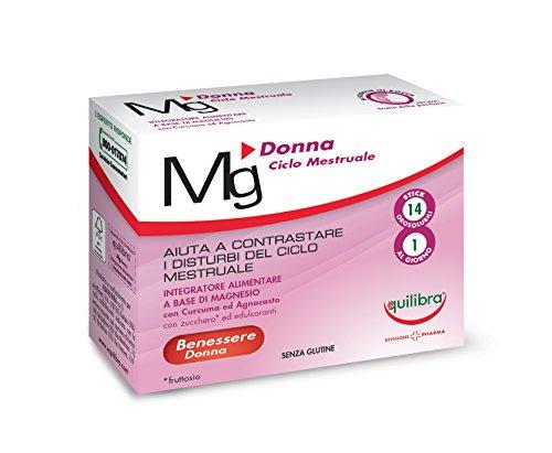 Equilibra Integratore Alimentare Magnesio Donna-14 Stick Pack