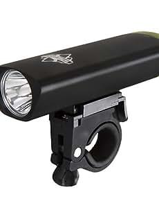 basecamp 3w luminoso faro nero bc-432 , black