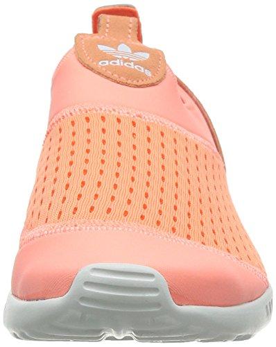 adidas ZX Flux ADV Smooth Slip On Sunglow Orange Orange