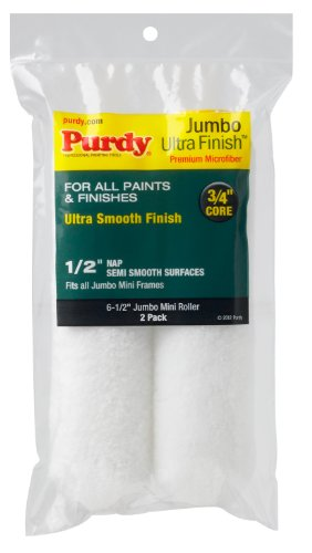 purdy-140626053-ultra-finish-with-1-2-nap-jumbo-mini-roller-replacements-case-of-6-6-1-2