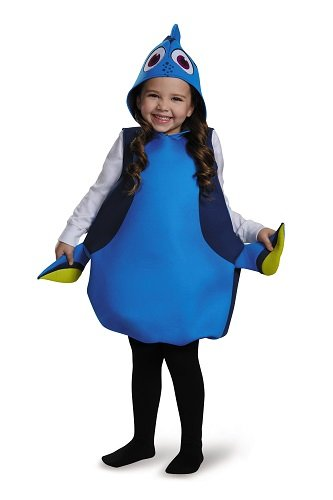 Disguise Dory Classic Finding Dory Disney/Pixar Costume, One Size Child, One Color by Disguise
