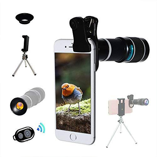Lente Cámara Teléfono, Teleobjetivo Zoom 20X Universal, Trípode, Telescopio Monocular, Adecuado Para Casi El 98{f27a158b3499d3cf3019854cf019cb8056fa087ef89dd9258073bde2f498d4f8} De Teléfonos Inteligentes En El Mercado IPhone Compatible Samsung