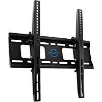 "deleyCON - Soporte universal para TV de Pared – 30 ""a 65 pulgadas (76 – 165 cm), Hasta de 10 °/+ 5 ° inclinable, Soporta hasta 75 kg, Hasta VESA 400 x 400 mm, de Distancia de Pared 56 mm"